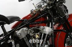1939-65 Harley Davidson Panhead Knucklehead Linkert Dash Mounted Choke Control