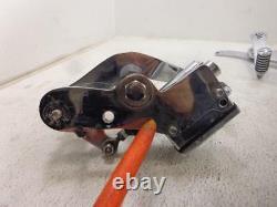 1980-1982 Harley Davidson Shovelhead FXWG DRIVER CONTROLS FOOTREST BRAKE MASTER