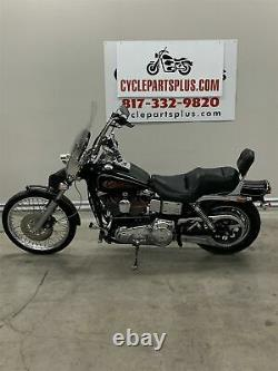 1998 Harley-Davidson FXDWG Dyna Wide Glide Forward Controls