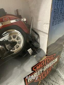 2004 New Bright Red Radio Control Harley Davidson Fat Boy 9.6V Ready to Run New
