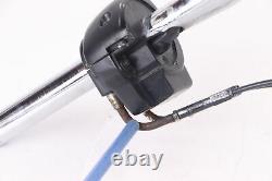 2005 Harley Road King 16 CHROME APE HANGER Handlebars Control Cable Switch Kit