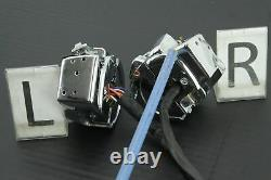 2009 Harley Road King CHROME Hand Switch Control Left Right Set BROKEN CRUISE