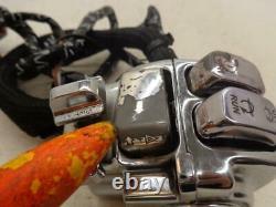 98-07 Harley Davidson FLH HANDLEBAR CONTROL SWITCH CRUISE UP DOWN AUDIO PTT SET