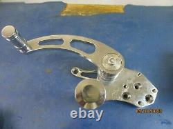 CHROME FORWARD CONTROL With MASTER CYLINDER HARLEY DAVIDSON FXST SOFTAIL 1984-86