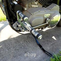 CNC Billet Forward Controls Footpeg For Harley Davidson Sportster 883 1200 04-13