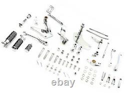 Chrome Forward Control Kit Harley-Davidson sportster 1986-1990 883 XLH 1200 1100