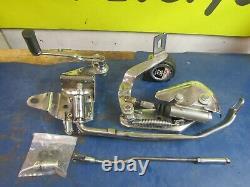Chrome Forward Controls Harley Davidson Fl Panhead Shovelhead 1958-1965