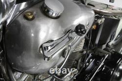 Chrome Tank Hand Shifter Control Kit fits Harley-Davidson