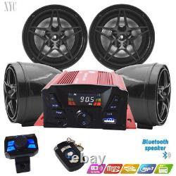 //Golf Car Cart MP3/Bluetooth Player Speaker FM Radio AMP Stereo WRemote Control