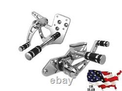 Harley Chrome Billet Forward Control Kit 3in Extended 22-0758 1986-1999 Softail