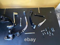 Harley Davidson Black/Chrome Mid Controls 2020 Softail Standard