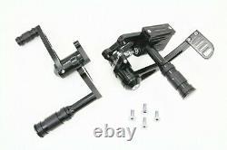 Harley Davidson Black Forward Controls 1982-1994 22-0782 FXR SUPER GLIDE II 2 FX