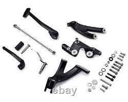 Harley Davidson Forward Control Kit Black M8 Lowrider/ Streetbob 50700060