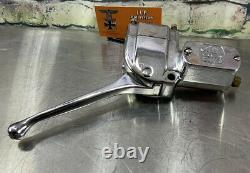 Harley Davidson Master Cylinder Hand Control 1972-81 Shovelhead Chrome S76