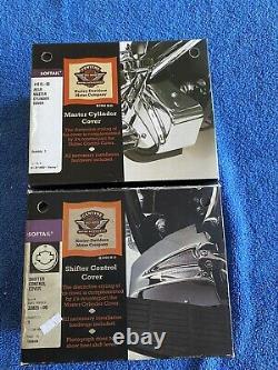 Harley Davidson Master Cylinder & Shifter Control Covers FLSTS Heritage Springer