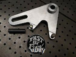 Harley Davidson Sportster Flattrack Rear Brake Caliper Bracket Kit Hooligan