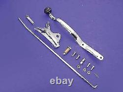 Left Side Tank Hand Shifter Lever Control Kit for Harley Davidson by V-Twin
