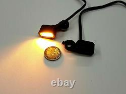 Mini LED Indicator Harley Softail Hand Controls E-Certified, Top Quality!  96-14