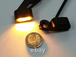 Mini LED Indicator Harley Sportster XL Hand Controls E-Certified from Year 2014