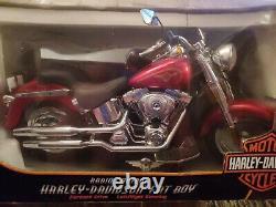 New Bright 1/6 16 Scale RC Radio Control 9.6v Harley Fat Boy Motorcycle