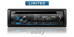 Plug And Play Fits 98-13 Harley Pioneer Bluetooth CD Usb Aux Radio Stereo Pkg