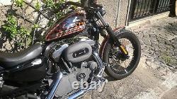 Vorverlegte Fußrastenanlage Harley Davidson Sportster'04-'13 Forward Controls